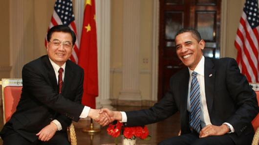 胡锦涛访美(一):  白宫最高规格接待