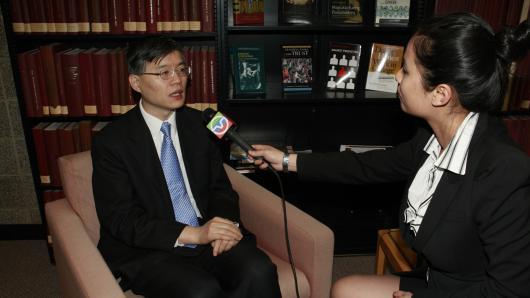 胡锦涛访美(十八):主席访芝城促民间交流