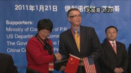 胡锦涛访美(三十二):中美再签大单