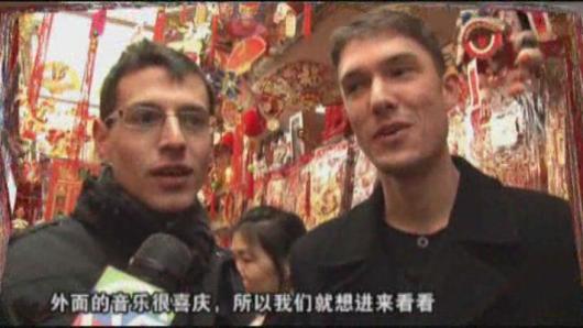 外族人士过中国新年