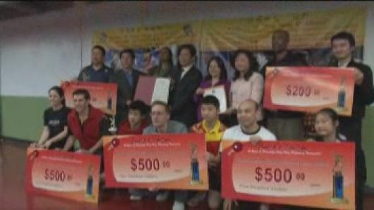 乒乓外交40周年友谊赛 高手云集冠军花落谁家?