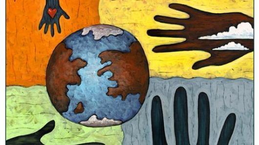 地球日展览 倡导绿色低碳生活