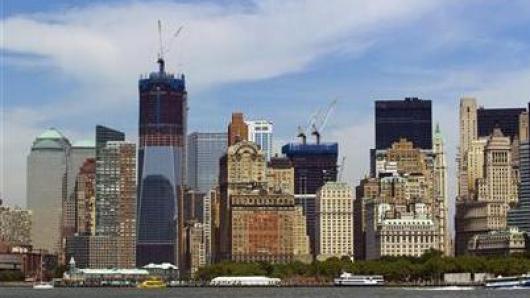 """曼哈顿下城911后崛起 彭博:史上最漂亮""""翻身仗"""""""