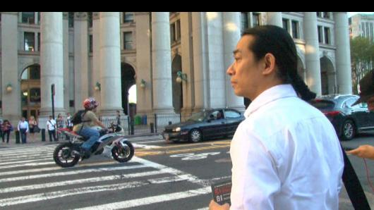 红白蓝:华裔艺术家中国式祭奠911