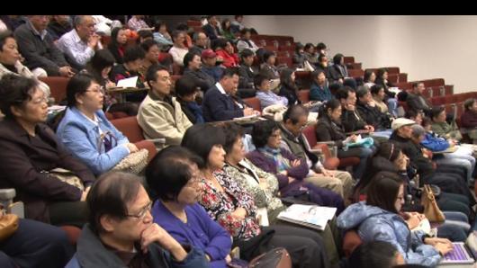 于丹程凯费城开讲  中华文化  中医养生