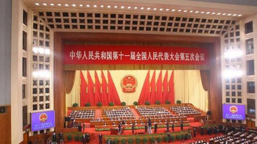 十一届中国人大五次会议开幕 温家宝作政府工作报告