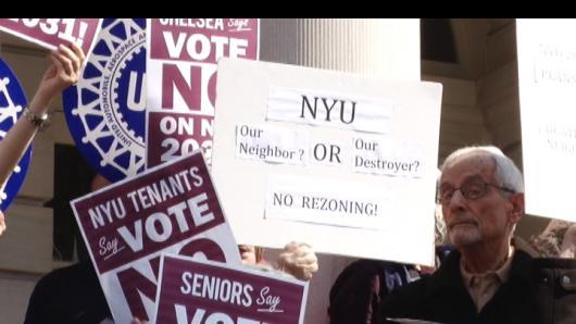 NYU大规模扩张计划 社区集体说不!