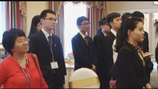 国际杰出青年亲善大使培训活动开始