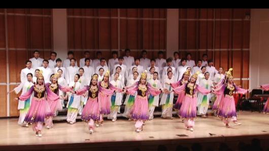 南开大学学生合唱团 林肯中心演出
