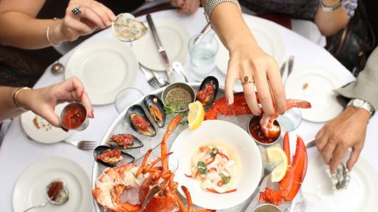 中文美食系列:浪漫海鲜餐厅Atlantic Grill 大西洋城的原生美味