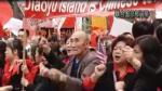 直播连线:日本首相野田佳彦今联大演讲 纽约华人联合国前保钓示威