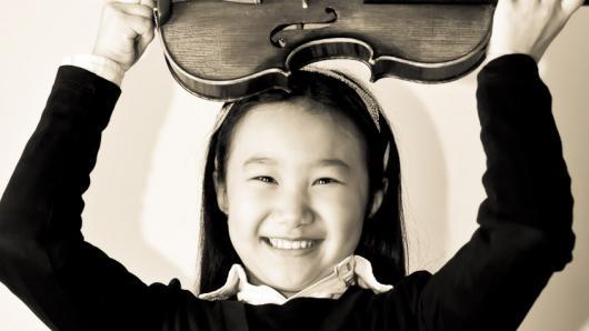 10岁登台卡耐基音乐厅  华裔女孩的小提琴世界