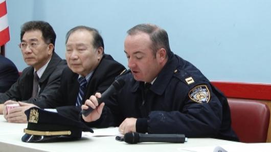 五分局警民会 谨防假电工入室行窃
