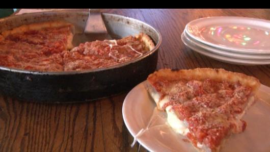 """中文美食系列:""""深盘""""芝加哥风格披萨"""