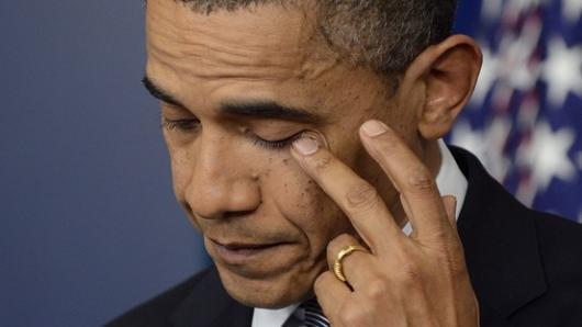 康州校园枪击案:奥巴马表示痛心