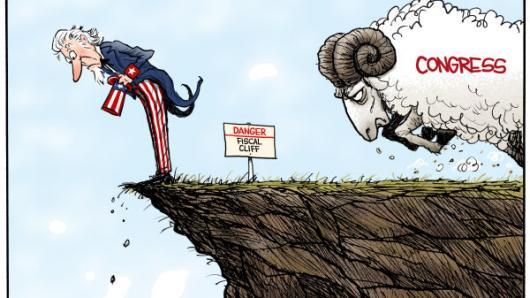 美国启动坠崖模式 详解华盛顿金钱游戏