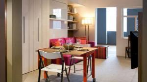 """纽约""""蜗居"""" 微型公寓设计展出"""