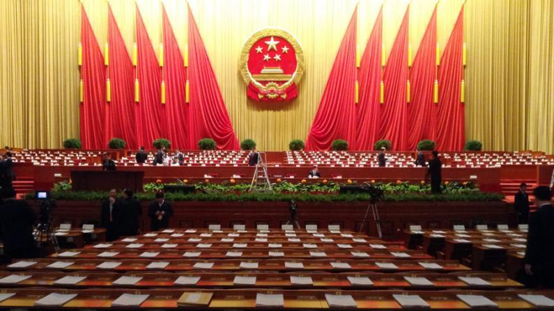 中国人大会议今晚开幕 温家宝将作政府工作报告