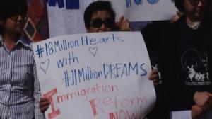 抗议削减亲属移民签证 洛杉矶亚太裔举行集会