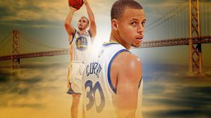 <体育深入> NBA季后赛 勇士新星库里冒出头