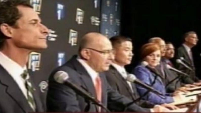 市长辩论激烈 白思豪频遭骂 刘醇逸猛开火