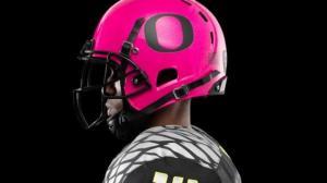 俄勒冈新款战服 粉色支持防治乳癌