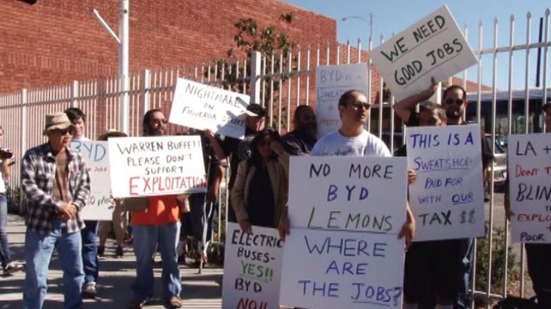 比亚迪北美陷劳资风波 遭受质疑