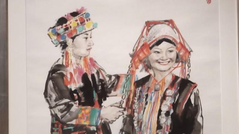 """""""水墨--中国梦"""" 当代中国画精品纽约群展"""