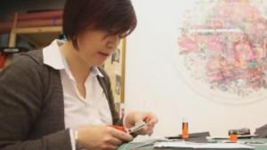 中文聚焦:在纽约的中国剪纸艺术家宋昕(上)
