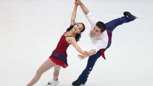 美国花滑锦标赛火热进行 双人组华裔女将摘银