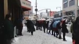 暴雪后晚高峰考验到来 MTA巴士改线延误严重
