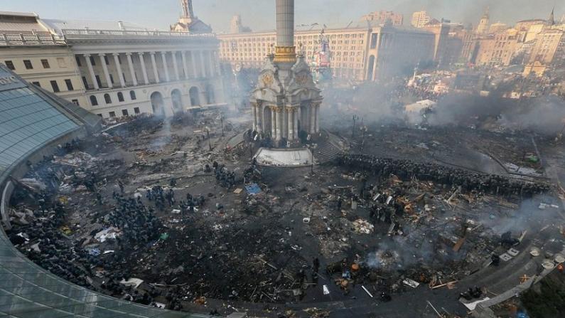 欧美继续谴责乌克兰冲突 俄罗斯称这是一场政变