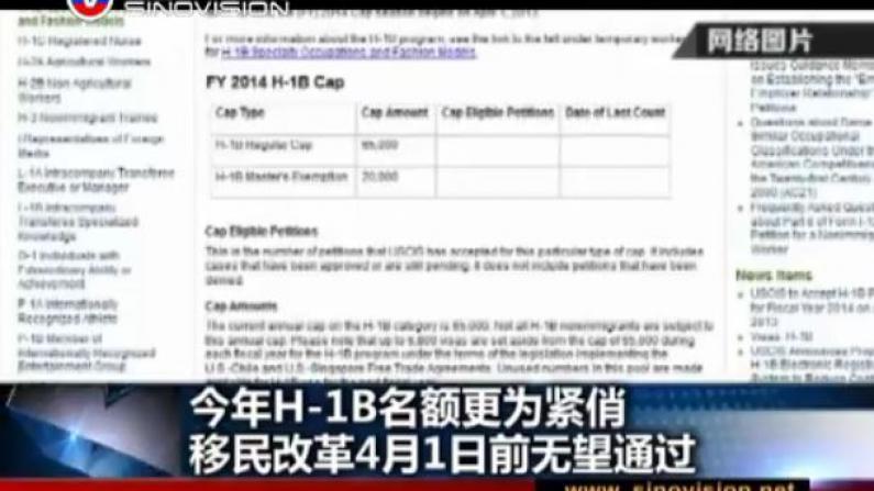 留学生心中唱忐忑!H1B即将开放申请 配额比去年更吃紧