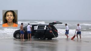 恶母驾车带三个孩子驶入海中 被判三宗谋杀罪