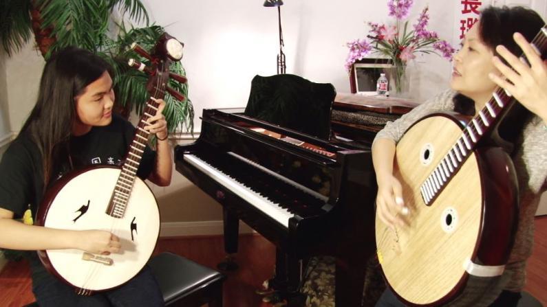 休斯敦华裔女孩音乐梦 二代移民双重身份成长路