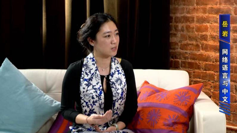 岳岩:网络语言影响汉语教学