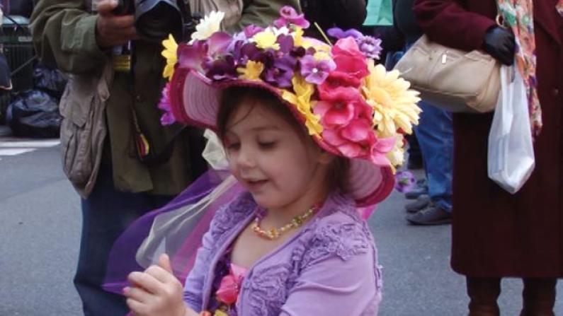 春意帽出来  纽约复活节帽子大游行