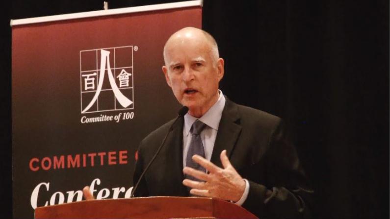 百人会年会旧金山召开 加州州长表重视对华交流合作