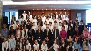 中领馆举行儿童节庆祝  邀犹太裔学生了解中国文化