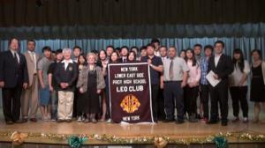 下东城高中幼狮队举办社区颁奖典礼