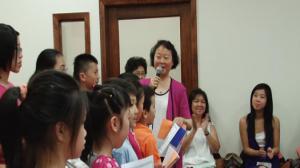 汉语学习成热潮 人力中心中文学校举行毕业典礼