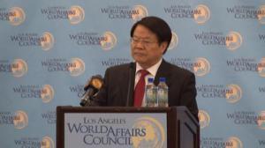 蔡武洛杉矶演讲:中美文化交流呈迅速发展势头