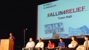 纽约移民联盟召开社区民众会议 呼吁加快移民改革