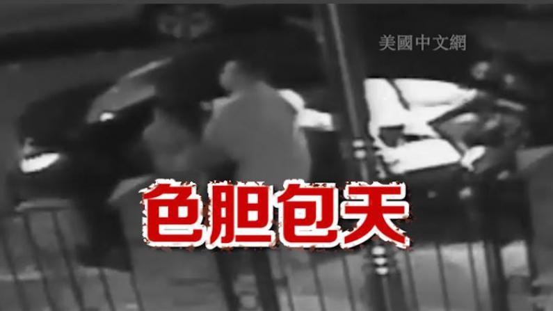 [监控曝光]皇后区司机色胆包天 当孩童面性侵女性