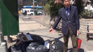 华埠业者吃哑巴亏 为乱扔垃圾者买单
