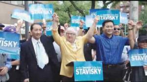 韩裔社区组织支持史塔文斯基竞选连任