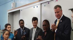 全市公立初中免费课后班名额近乎翻倍  白思豪宣布启动SONYC