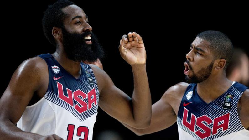 美国夺首届男篮世界杯冠军 欧文荣膺最有价值球员