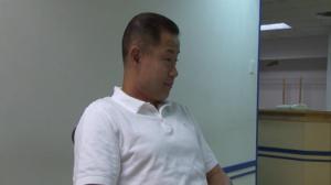 刘醇逸初选后首度面对媒体 委婉承认败选