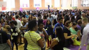 纽约市高中联展布鲁克林举行  华裔家长聚焦特殊高中申请